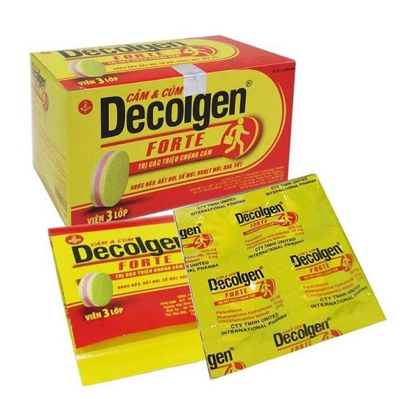 Công dụng, liều dùng và tác dụng phụ của thuốc Decolgen