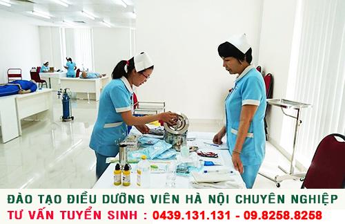 Đào tạo Điều dưỡng viên chuyên nghiệp