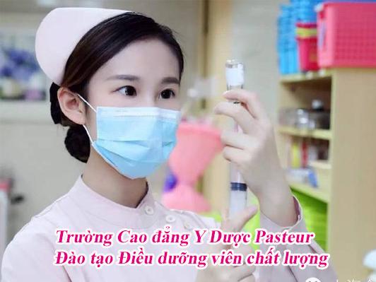 Trường Cao đẳng Y Dược Pasteur đào tạo Điều dưỡng viên chất lượng