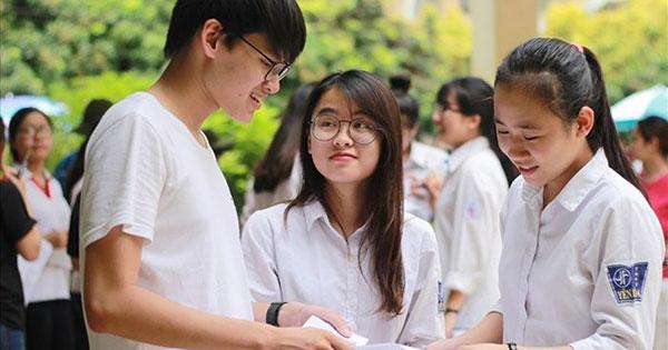 Thí sinh học liên tục và tốt nghiệp trung học tại khu vực nào thì hưởng ưu tiên theo khu vực đó
