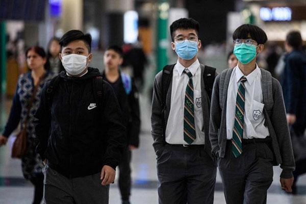 Học sinh THPT Hong Kong. Hình ảnh minh họa.