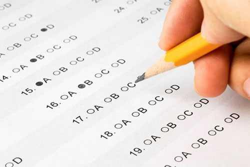 Trừ bài thi Ngữ Văn, các môn thi trắc nghiệm đều được chấm bằng máy