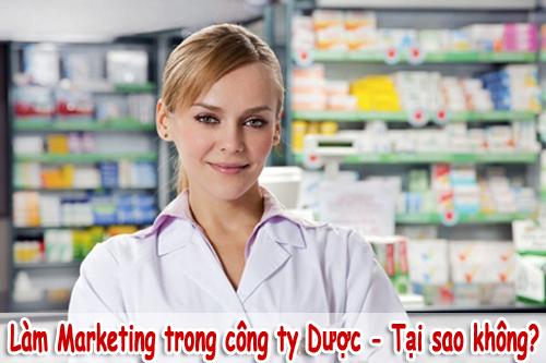 Marketing trong công ty Dược - lĩnh vực nhiều tiềm năng