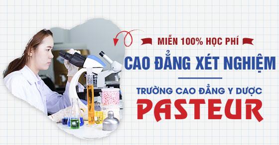 Cao đẳng Xét nghiệm Hà Nội miễn 100% học phí 2021 cho tất cả tân sinh viên