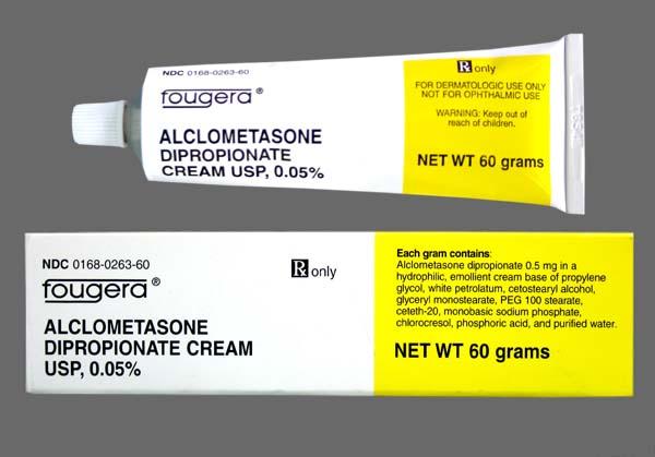 Thuốc alclometasone có tác dụng phụ gì?