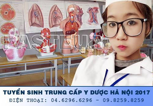 Thông báo tuyển sinh Trung cấp Y Hà Nội năm 2017