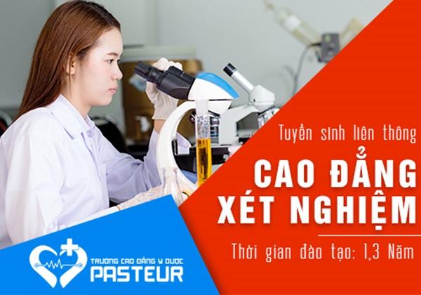 Tuyển sinh Liên thông Cao đẳng Xét nghiệm y học tại Hà Nội năm 2020