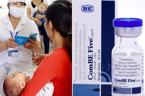 Bộ Y tế lên tiếng khi có 3 trẻ tử vong sau tiêm vắc xin ComBE FIVE